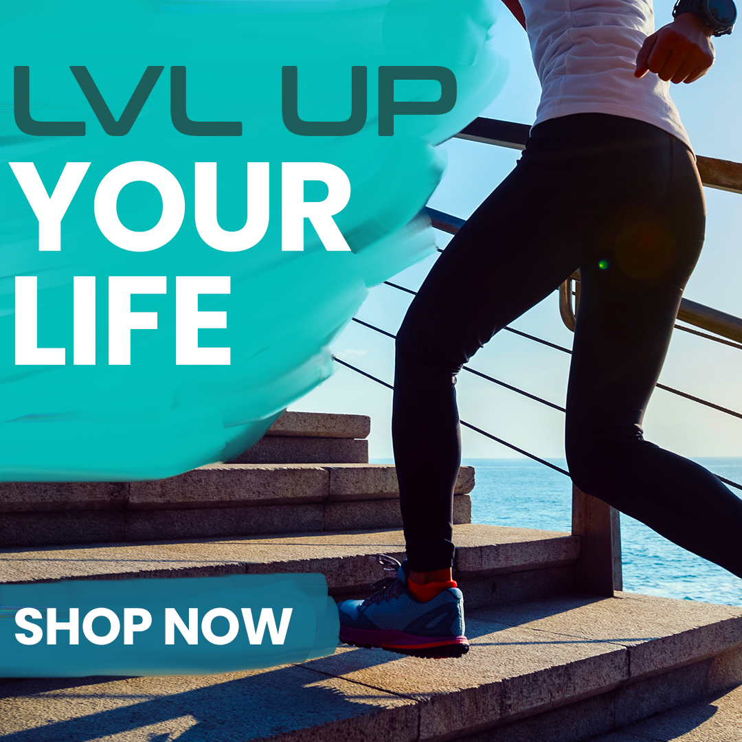 LVLUP Healt Mobile Logo Shop Now 2